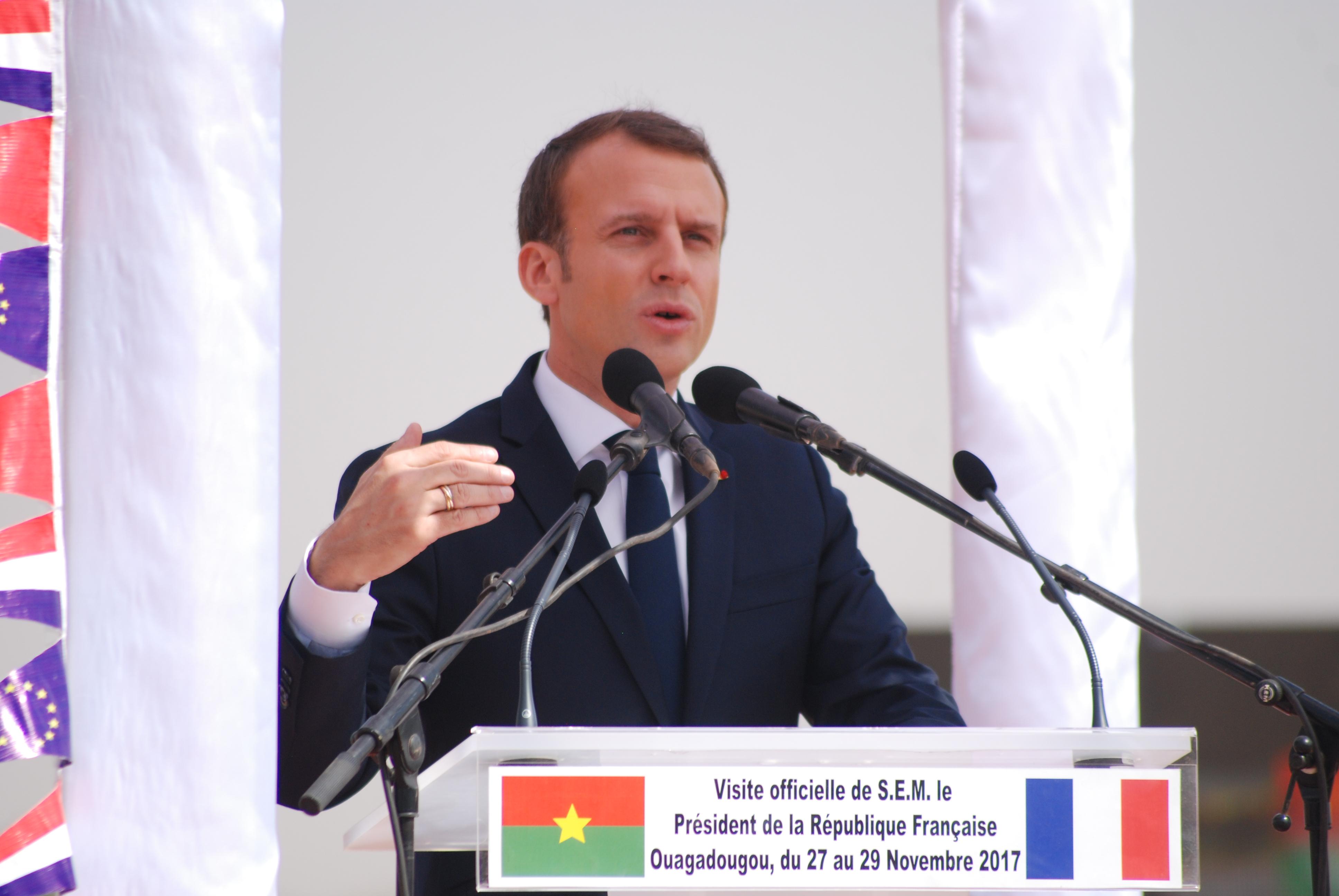 Macron au Burkina: Nicolas Bay du FN dénonce une attitude «assez scandaleuse»