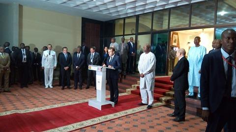 Macron à Ouaga :Le 5e raout  UA-UE a  débuté au Burkina