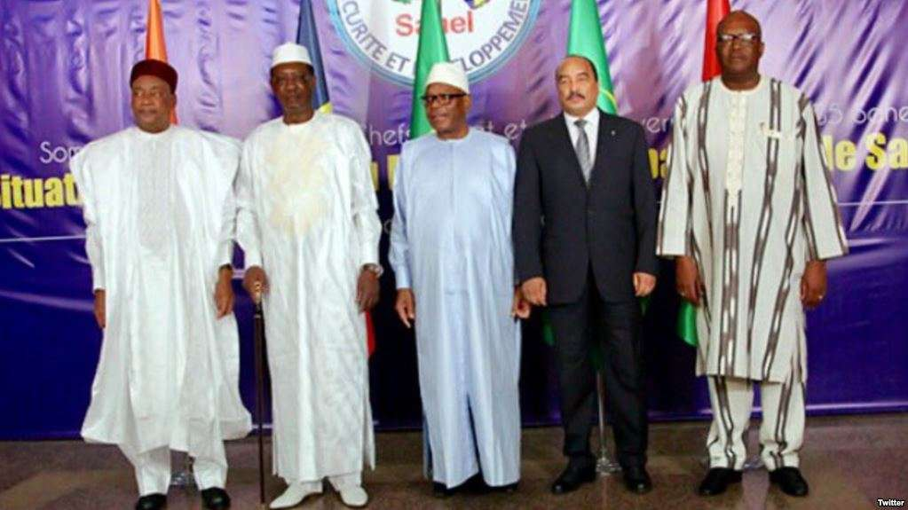 Force du G5-Sahel : Plus de 62% de son budget prévisionnel mobilisé