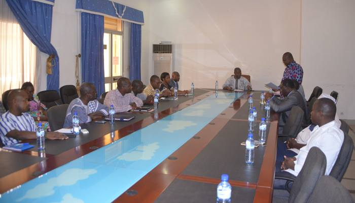 Premier ministère :  Fayçal Ouédraogo installé dans ses fonctions de comptable principal des matières