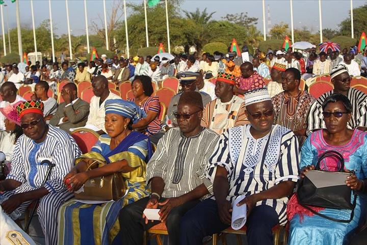 11-décembre 2018 : La Présidence du Faso distingue 820 méritants