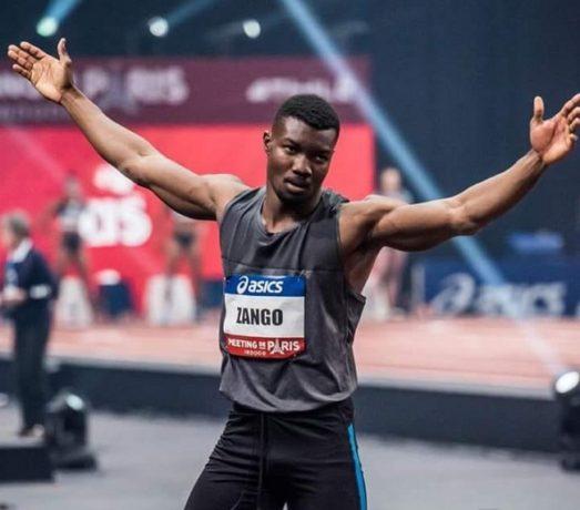 Athlétisme: Fabrice Zango signe la meilleure performance mondiale de l'année