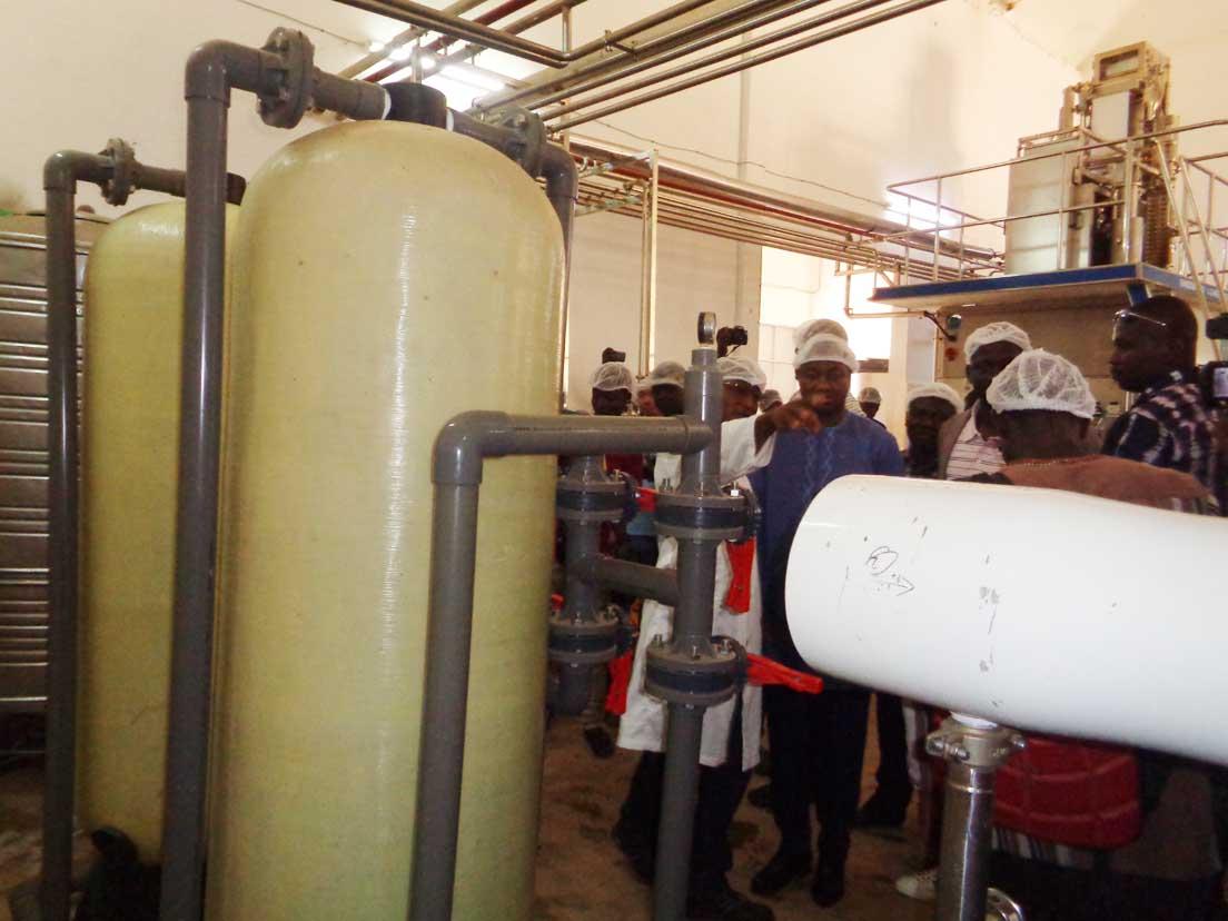 Lancement de la semaine de l'industrie burkinabè :  Le ministre du Commerce visite Delicio