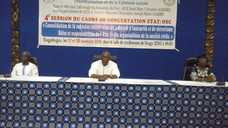 Dialogue Etat/OSC: De fortes recommandations formulées et des résolutions adoptées