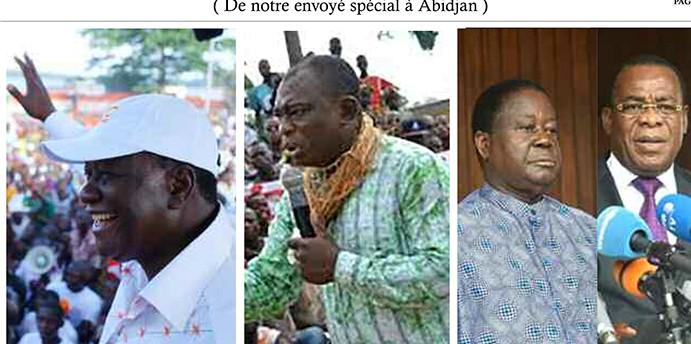 J-3 en Côte d'Ivoire: Drôle de désobéissance civile contre «ya foé»