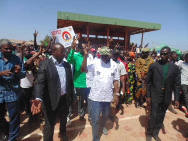 Campagne électorale à Dédougou: «Nous sommes partis par la rue, mais on reviendra par les urnes»