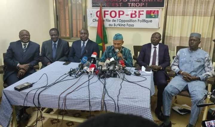Résultats provisoires de la présidentielle: L'Opposition «prend acte»