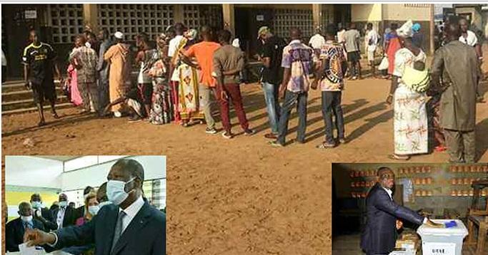 1er tour présidentielle en Côte d'Ivoire du 31 octobre: Entre incidents gravissimes et psychose, les Ivoiriens ont voté