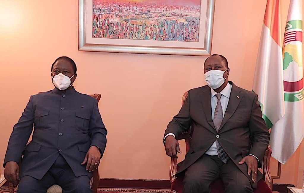 Rencontre Ouattara-Bédié à l'hôtel du Golf: De l'indispensable et douloureux arbre à palabre