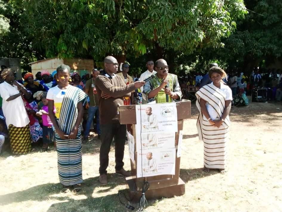 Do Pascal Sessouma de Vision Burkina parti pacifiste: «Je préfère soulager des malades et des veuves que de payer pour remplir des stades»