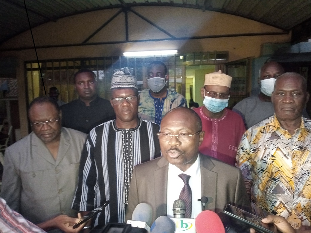 Eddie Komboïgo aux partis affiliés au CFOP: «Nous serons une Opposition républicaine»