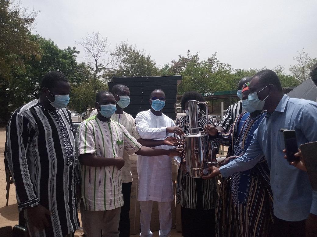 Koupéla: L'ONASER fait parler son cœur avec du matériel médico-technique