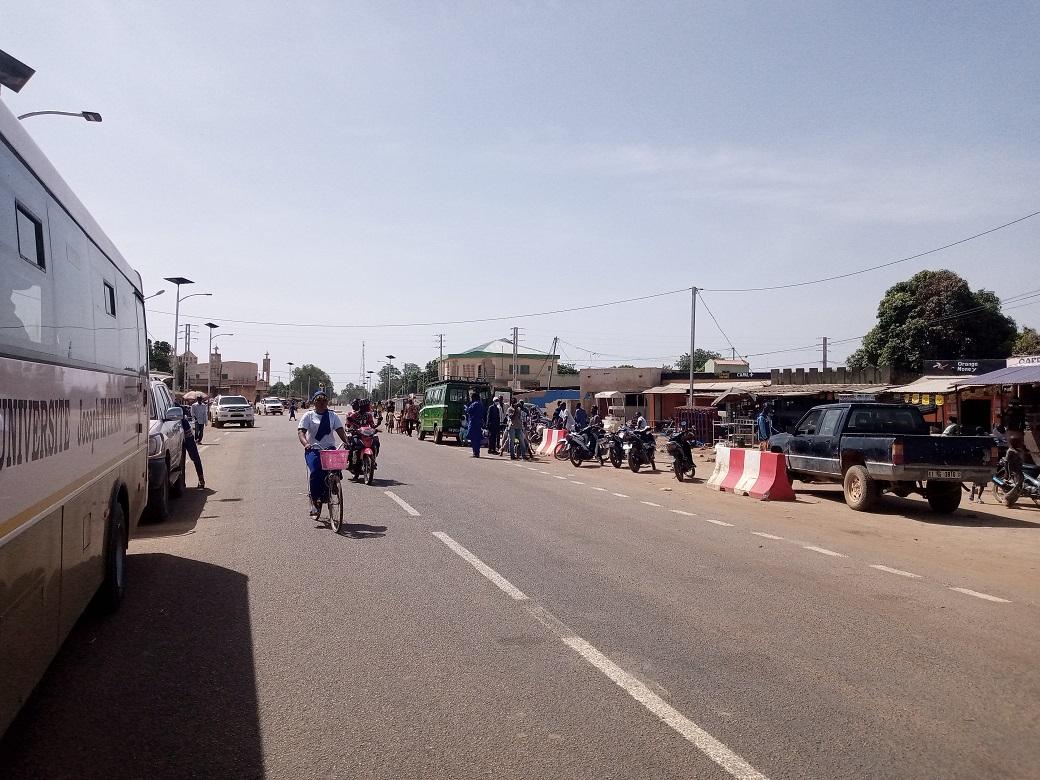 Désenclavement du Burkina: La route Manga-Zabré inaugurée