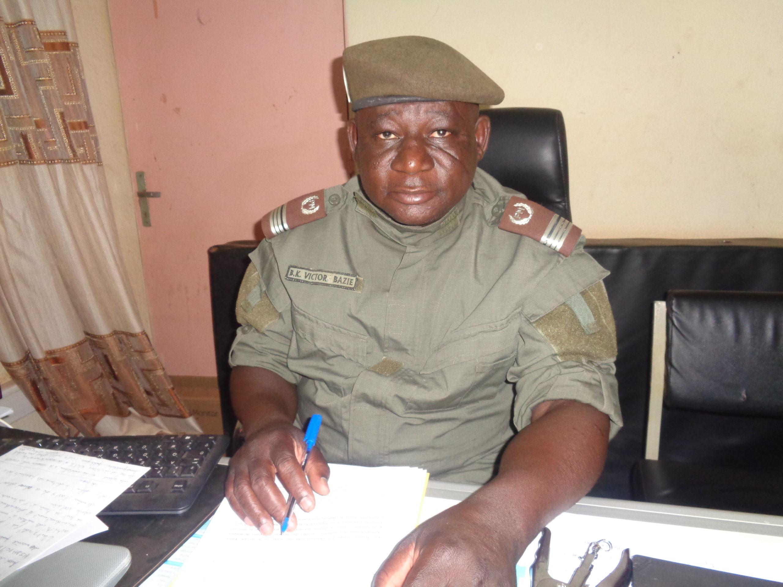 Inspecteur Victor Bazié, DSP: «Là où nous passons, l'incivisme ne passe pas»
