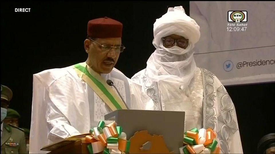 Niger: Discours d'investiture du président Bazoum