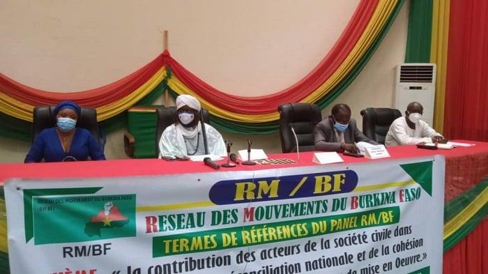 Réconciliation nationale: Les acteurs de la société civile apportent leur contribution au processus