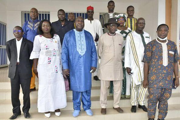 Réconciliation nationale : Le réseau des parlementaires chez Zéphirin Diabré