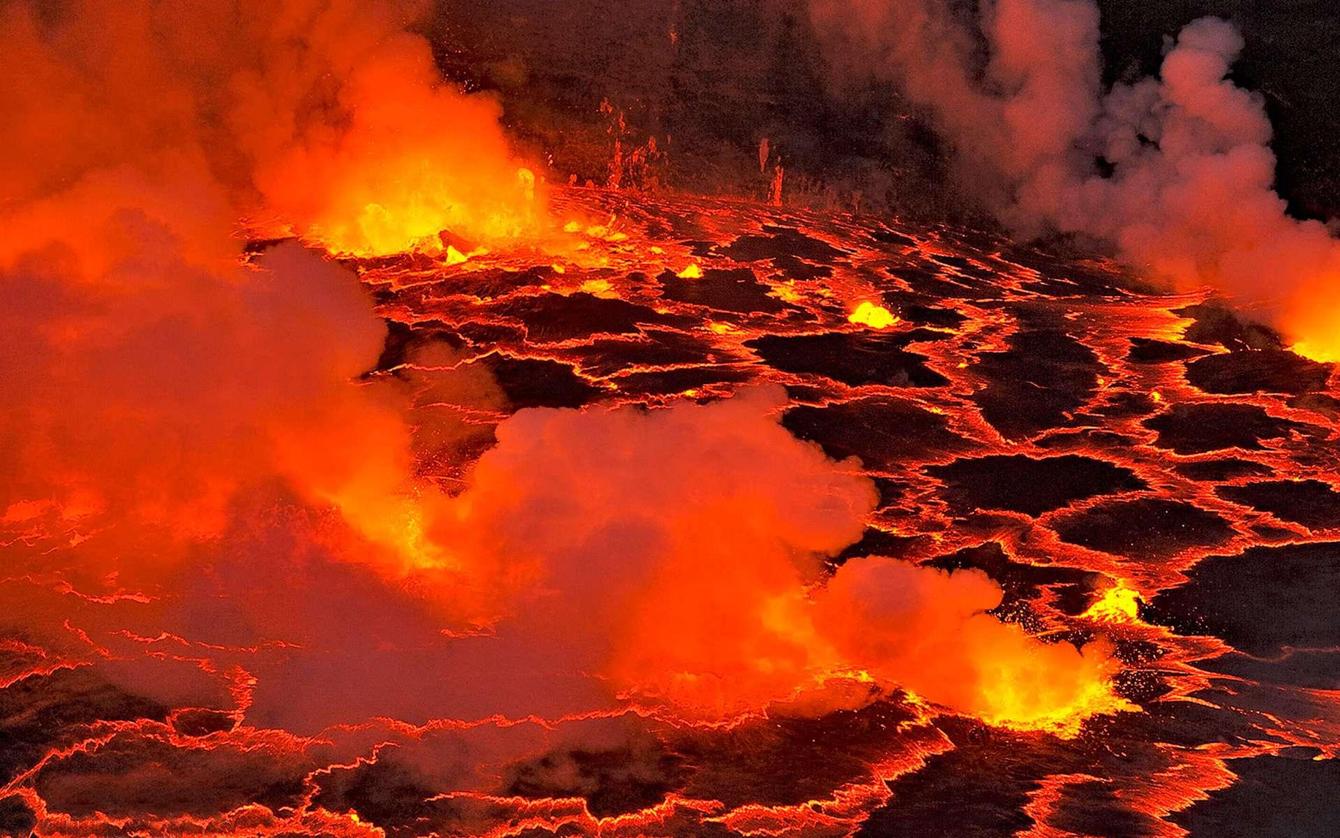 Fin de l'éruption du volcan Nyaragongo en RDC: Revisitons Haroun Tazieff!