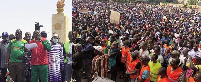 Marche de l'Opposition contre l'aggravation du terrorisme au Burkina: Un Cor pour réveiller le pouvoir d'un sommeil paradoxal