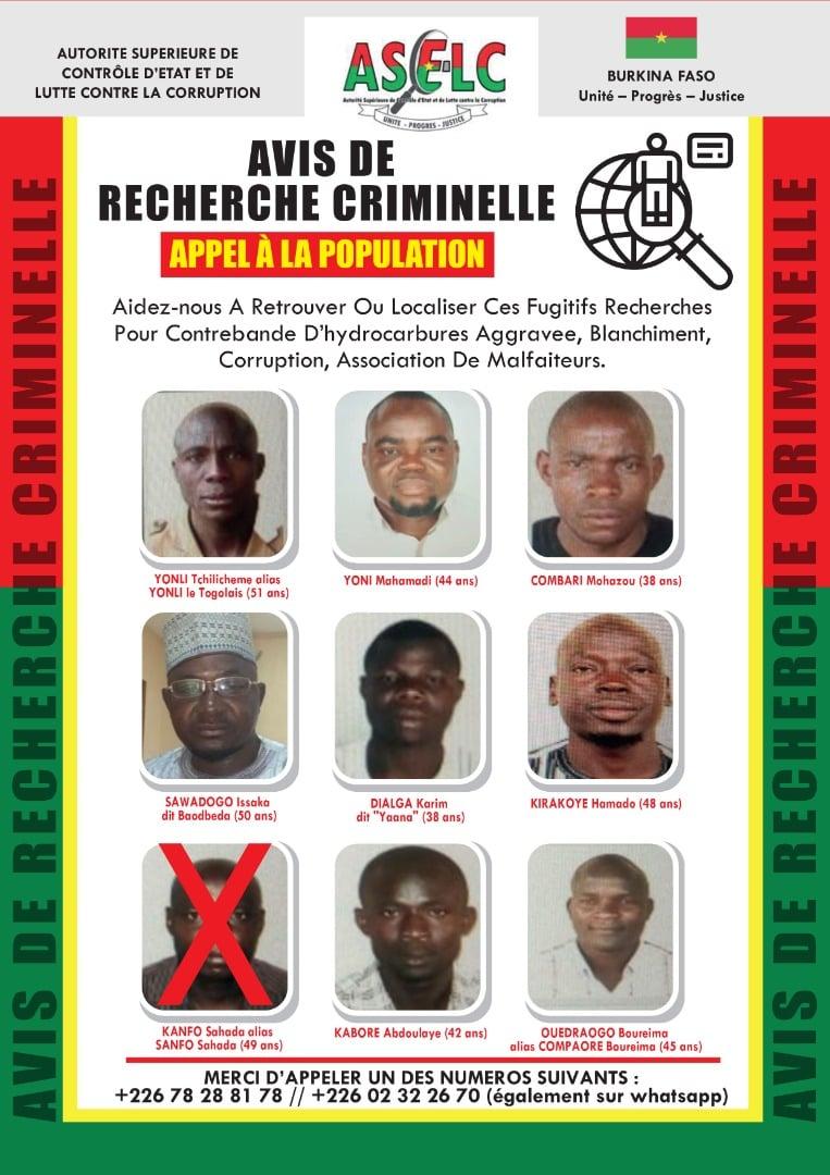 Trafic de carburant: Wanted contre 8 ravitailleurs des terroristes