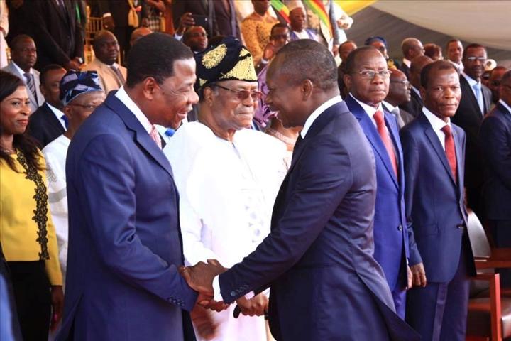 Rencontre Talon-Yayi: Enfin la paix des braves au Bénin?